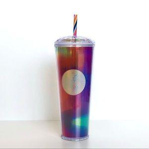 NWT Starbucks Rainbow Kaleidoscope Tumbler